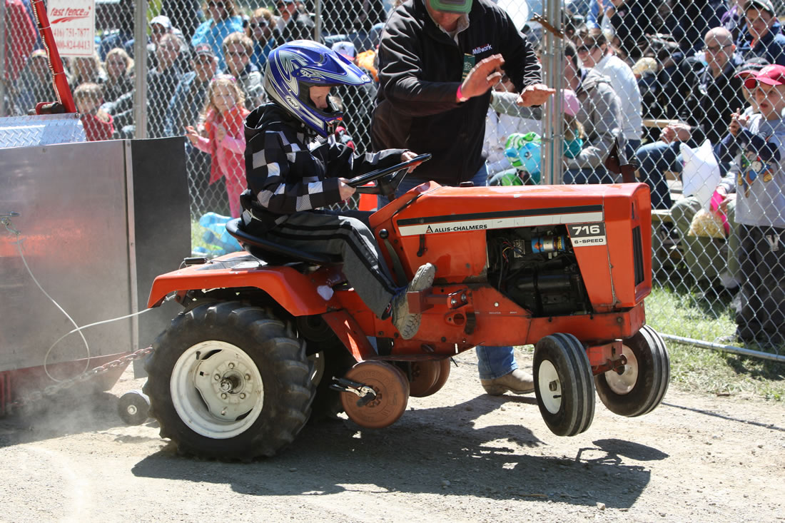 Garden Tractor Pulls Source · Garden Tractor Pull at Schomberg Fair