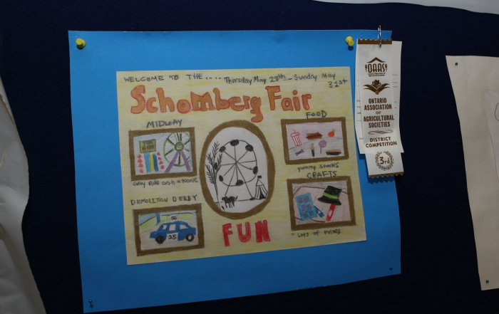 Senior Poster Competition 3rd - Nicole Hayward  - Schomberg Fair