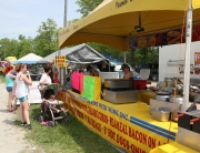 Taste some fabulous food from the many vendors.