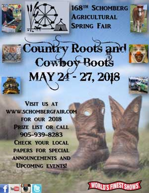 Schomberg Agricultural Fair Spring Guidebook 2018