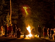 Schomberg Fair Community Bonfire