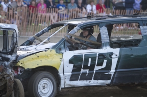 Demolition Derby at Schomberg Fair