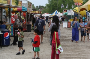 Vendors at Schomberg Fair