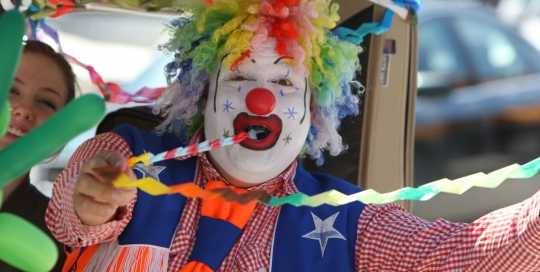 Doo Doo the Clown at Schomberg Fair