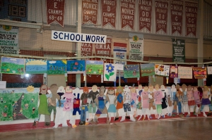 School Work Exhibits at Schomberg Fair