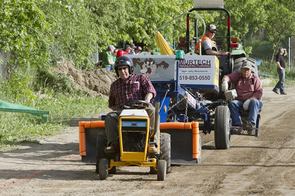 Stock and Modified Garden Tractor Pull