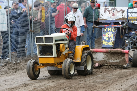 Stock And Modified Garden Tractor Pull Schomberg Fair