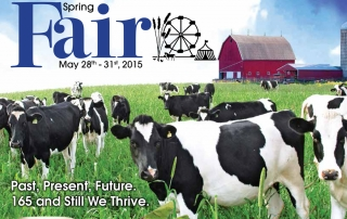 2015 Schomberg Fairbook cover